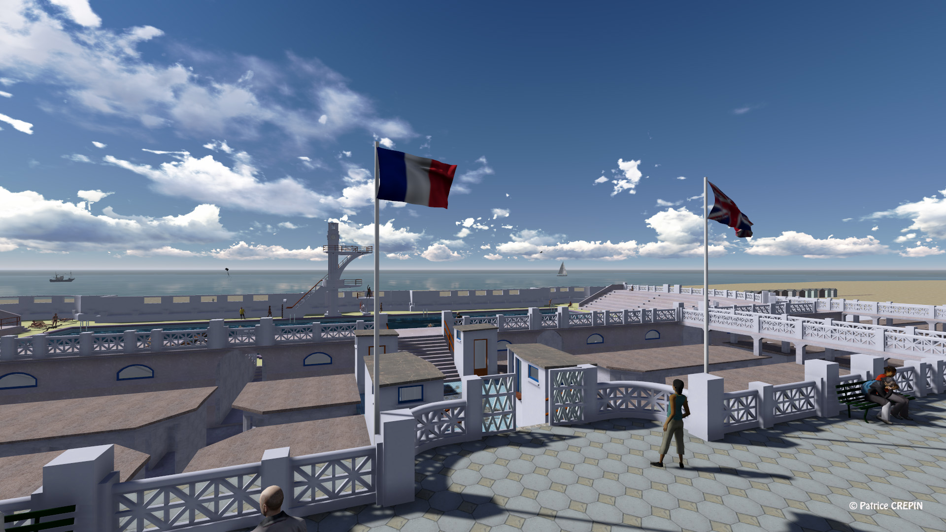 Fiat lux fiat urbs for Belle piscine paris